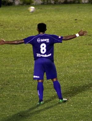São Caetano, de Anselmo, vence Comercial por 2 a 0 (Foto: Divulgação / AD São Caetano)