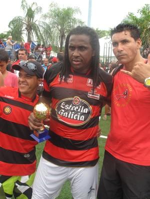 Emerson Flamengo melhor do carioca showbol  (Foto: Flávio Dilascio/SporTV.com )