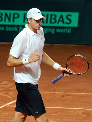 John Isner EUA Copa Davis (Foto: AFP)