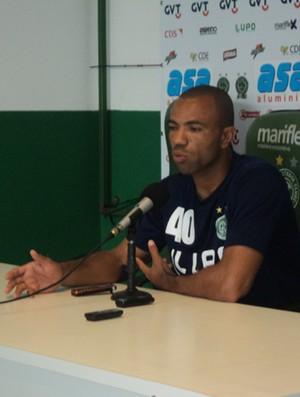 Emerson, goleiro do Guarani (Foto: Murilo Borges / Globoesporte.com)