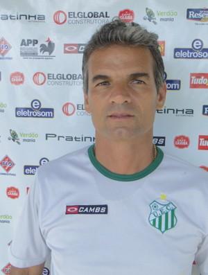 Eugênio Souza, técnico do Uberlândia Esporte (Foto: Assessoria UEC)