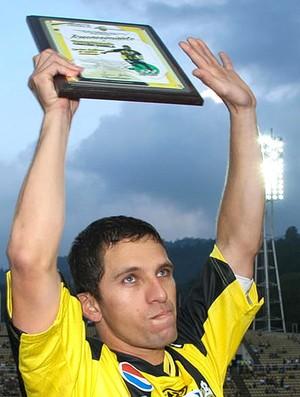 gerzon chacon deportivo tachoira (Foto: Divulgação Site Oficial do Deportivo Tachira)