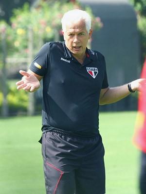 Emerson Leão, treino do São Paulo (Foto: Luiz Pires / VIPCOMM)