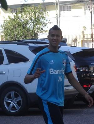 Souza Grêmio volante (Foto: Tomás Hammes/Globoesporte.com)