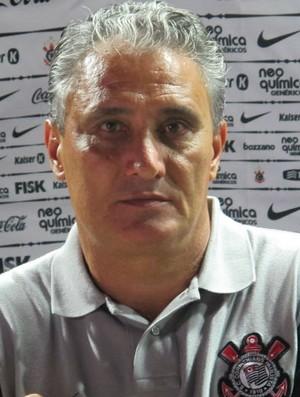 Tite, técnico do Corinthians (Foto: Carlos Augusto Ferrari / globoesporte.com)