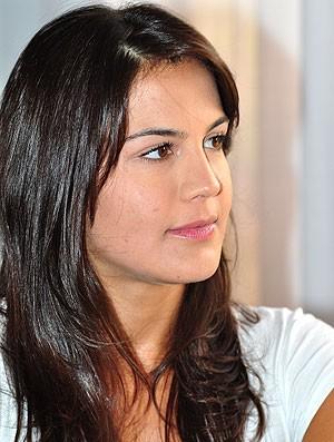 Kyra Gracie entrevista (Foto: Nelson Veiga / Globoesporte.com)