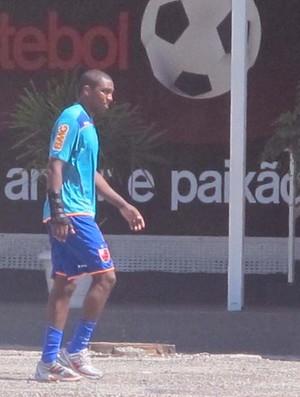 Marcos González no treino do Flamengo (Foto: Richard Fausto/GLOBOESPORTE.COM)