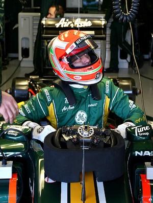 Jarno Trulli Caterham testes em Jerez de la Frontera (Foto: Divulgação)