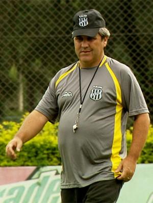 Gilson Kleina, técnico da Ponte Preta (Foto: Reprodução EPTV)