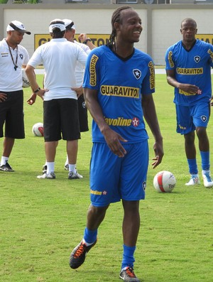 andrezinho botafogo treino (Foto: Thales Soares / Globoesporte.com)