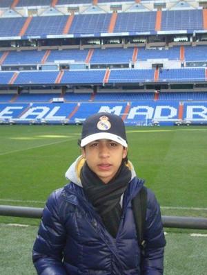 Garoto de 13 anos faz testes no Real Madrid (Foto: Arquivo pessoal)