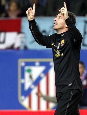 MEssi barcelona gol atlético de madri (Foto: agência EFE)