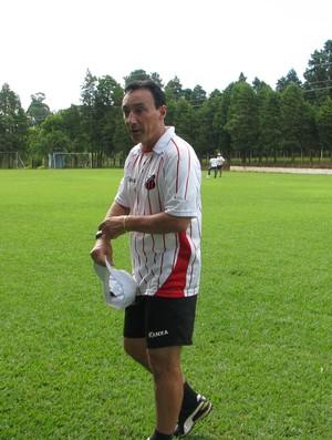 Roberto Fonsceca - técnico Ituano (Foto: Rafaela Gonçalves / GLOBOESPORTE.COM)