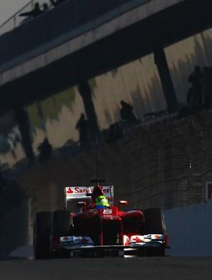 Felipe Massa Ferrari testes Barcelona Fórmula 1 (Foto: Getty Images)