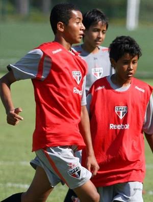 Josué Henrique são paulo (Foto: Anderson Rodrigues/Globoesporte.com)