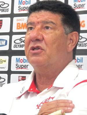 Joel Santana coletiva Flamengo (Foto: Richard Souza / Globoesporte.com)