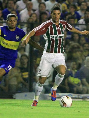 thiago neves boca juniors x fluminense (Foto: Ricardo Ayres/Photocamera)