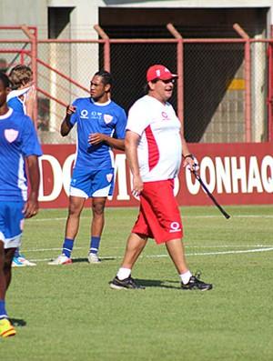 Jogadores do Mogi Mirim durante treino (Foto: Divulgação Mogi Mirim)