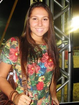 Carolina Portaluppi, filha de Renato Gaúcho  (Foto: Flávio Dilascio / SporTV.com)