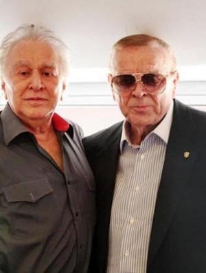Juvenal Juvencio e Jose Maria Marin (Foto: Divulgação Site Oficial do São Paulo)
