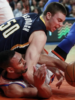 NBA Basquete Tyler Hansbrough Indiana Pacers (Foto: AP)