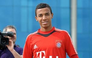Luiz Gustavo no treino do Bayern de Munique (Foto: EFE)