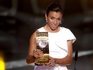 Marta bola de ouro (Foto: AFP)