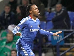 Drogba gol Chelsea