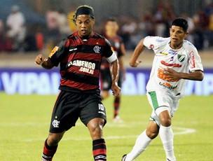 Ronaldinho (Foto: Alexandre Vidal - Fla Imagem)
