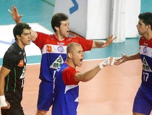 Londrina vôlei Superliga (Foto: Alexandre Arruda / CBV)