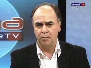 Marcelo Oliveira, técnico do Coritiba (Foto: frame RPCTV)