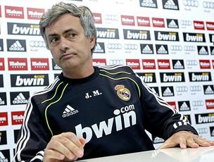 jose mourinho real madrid coletiva (Foto: agência EFE)