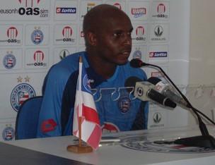 Tressor Moreno Bahia  (Foto: Eric Lusi Carvalho / GloboEsporte.com)