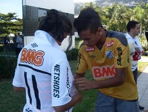 neymar santos brenda realengo (Foto: Divulgação/Esporte Espetacular)