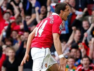 Javier Hernandez gol manchester chicharito (Foto: Reuters)
