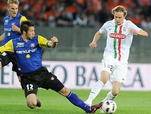 Krasic na partida do Juventus contra o Chievo (Foto: EFE)