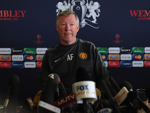 alex ferguson manchester united coletiva (Foto: agência Getty Images)