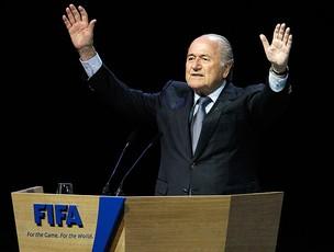 joseph blatter, presidente da fifa (Foto: agência Reuters)