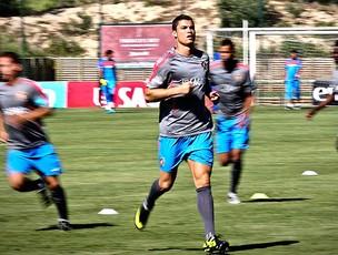 Cristiano Ronaldo no treino da seleção de Portugal (Foto: EFE)