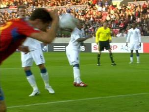 frame marca.com ander herrera espanha gol inglaterra (Foto: reprodução site Marca.com)
