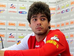 henrique são paulo coletiva (Foto: Carlos Augusto Ferrari / GLOBOESPORTE.COM)
