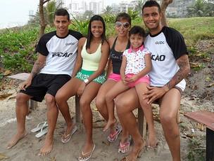 leo lima treino praia (Foto: Cassis Leitão / Globoesporte.com)
