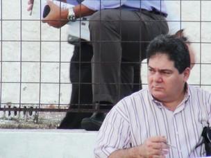 Presidente do Fortaleza Osmar Baquit (Foto: Roberto Ranulfo/GLOBOESPORTE.COM)