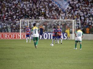 Amistoso do Trairiense contra o Fortaleza (Foto: Gioras Xerez/Globoesporte.com)