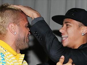 daniel alves Neymar brasil (Foto: Rafael Ribeiro / CBF)