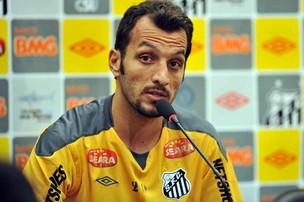 Edu Dracena, do Santos (Foto: Ricardo Saibun/Divulgação Santos FC)