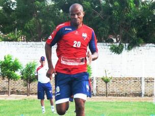 Léo Andrade atacante do Fortaleza (Foto: Roberto Ranulfo/GLOBOESPORTE.COM)