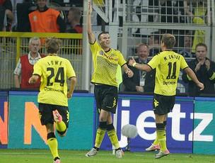 Kevin Grosskreutz gol Borussia Dortmund (Foto: AP)