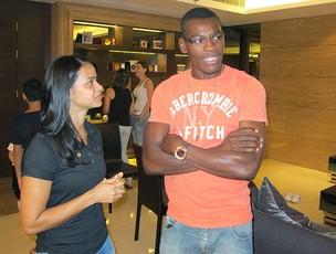 Paulão jogador do Guangzhou Evergrande (Foto: Lydia Gismondi / GLOBOESPORTE.COM)