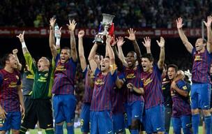 Barcelona Campeão (Foto: Reuters)